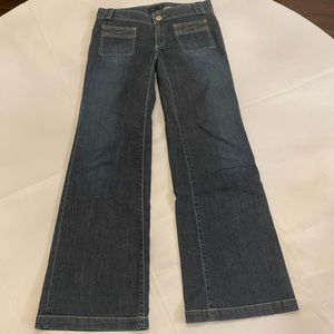 BANANA REPUBLIC Women's Low Waist Flare Jeans 4